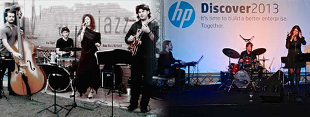 Banda Jazz para tu evento