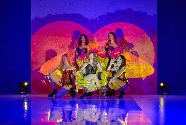 Bailarinas burlesque para tu evento