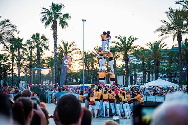 Castells ideales para tu fiesta típica catalana