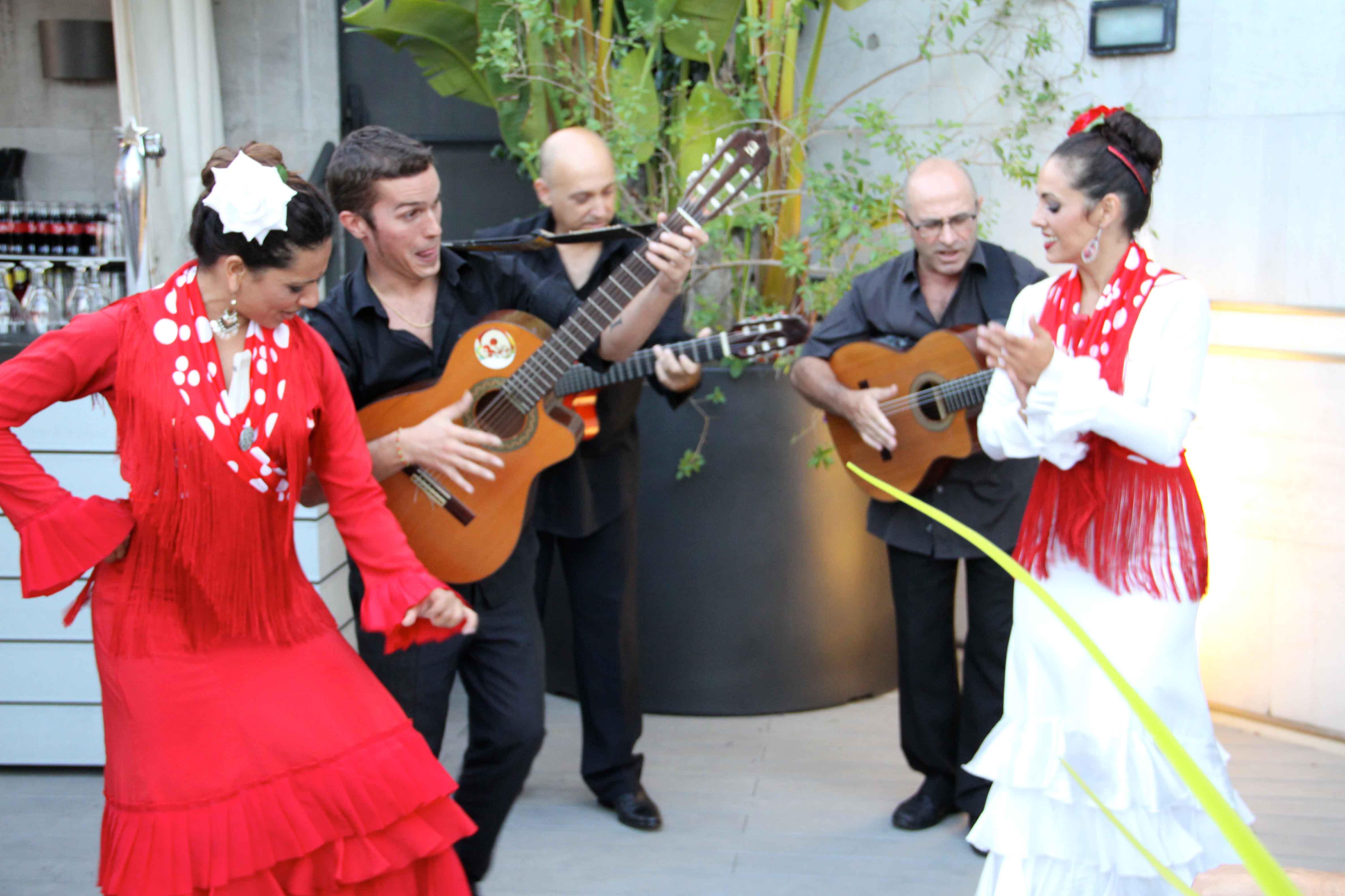 Artistas flamencos para fiesta típica española Eventos Barcelona