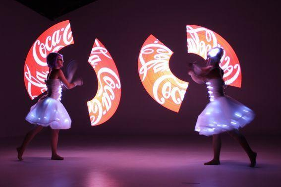 Light Juggling Coca Cola Eventos Barcelona