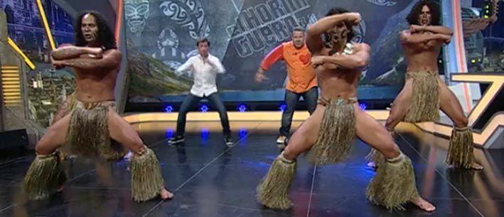 Danza Polinesica en Hormiguero Antena 3