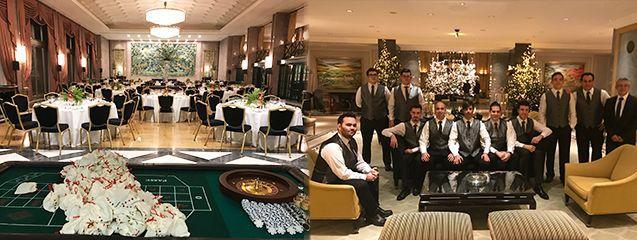 Casino party in Lisboa. Organized by Eventos Barcelona