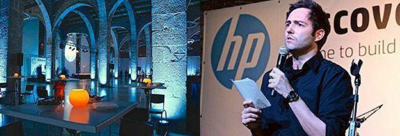 Producción artística y técnica Gala Dinner HP Barcelona