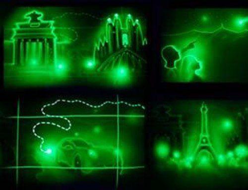 Espectacular Show de Light Art en Praga