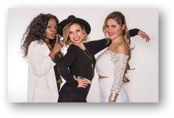 Trio de cantantes soul femenino