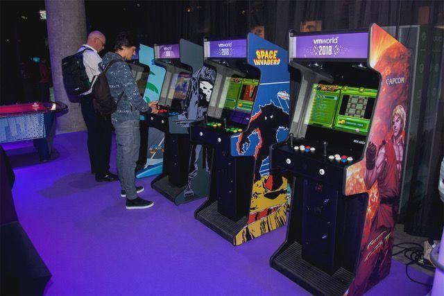 Maquina arcade para Eventos en Barcelona