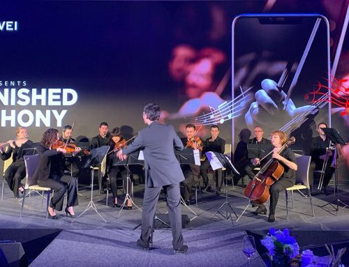 Huawei's Classical Music Orchestra at the Hotel W.