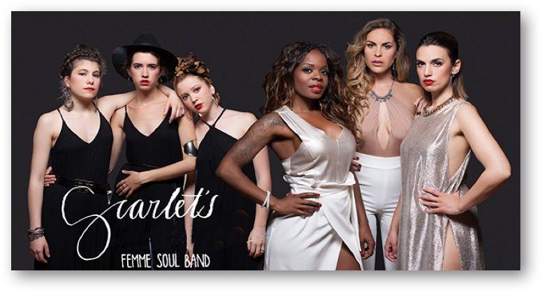Scarlett femme soul band