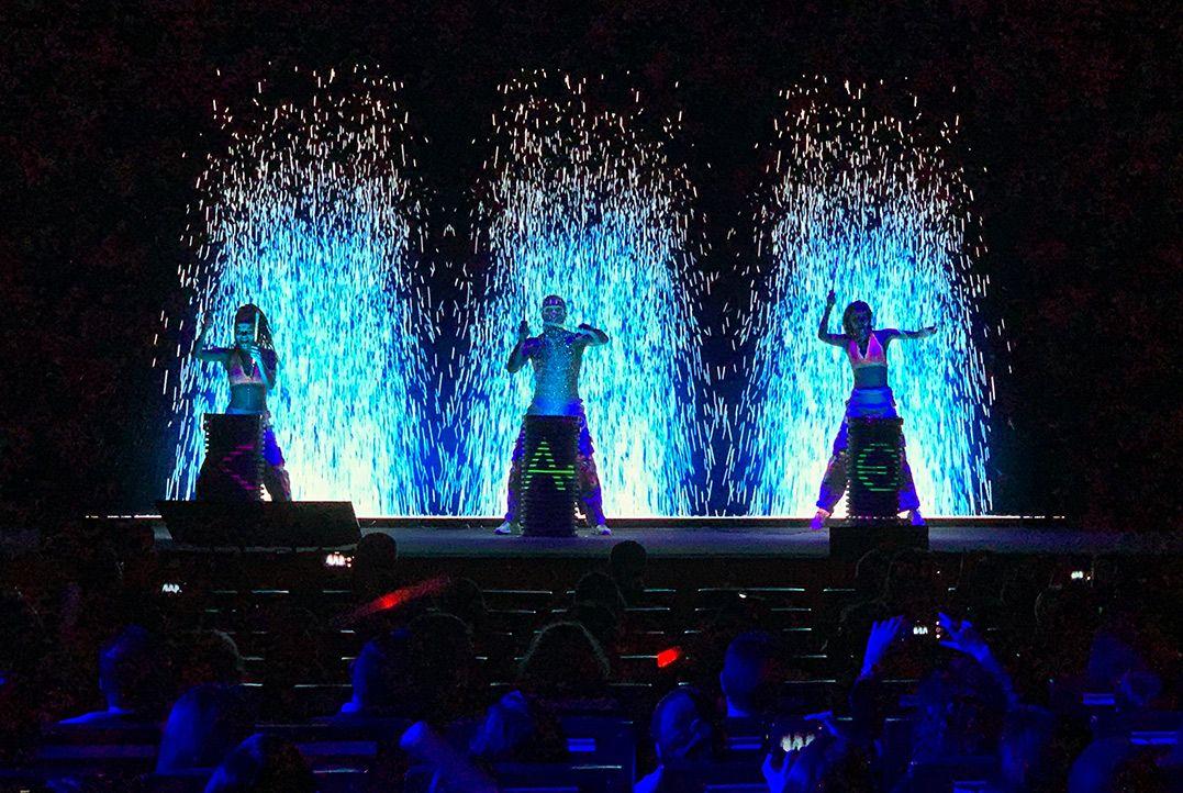 kao water drummers